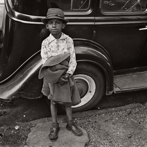 Jerome Liebling - Boy and Car