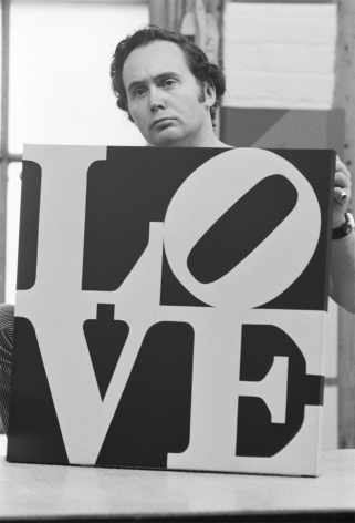 William John Kennedy- Robert Indiana Holding Love