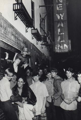 Fred W. McDarrah- Demonstrators in Front of Stonewall Inn