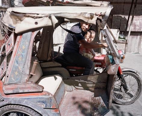 Leo Rubinfien- A Motor Rickshaw