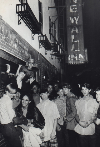 Fred W. McDarrah- Demonstrators in Front of Stonewall Inn