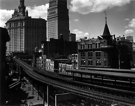 Brett Weston - Tracks and Buildings, New York