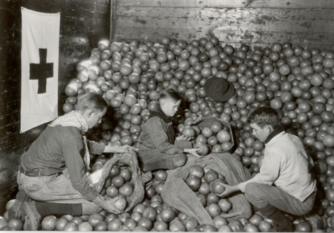Lewis Hine - Red Cross Drought Relief