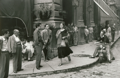 Ruth Orkin- American Girl in Italy
