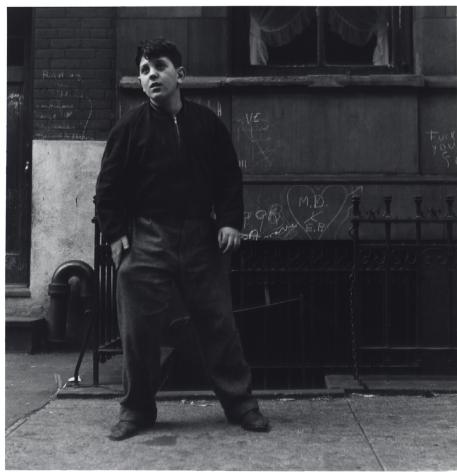 Jerome Liebling - Boy Playing Punchball