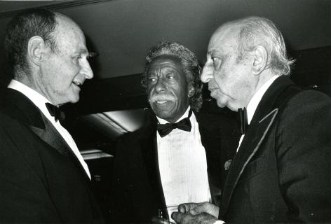 Roxanne Lowit, Irving Penn, Gordon Parks and Youssef Karsch, MoMA, New York