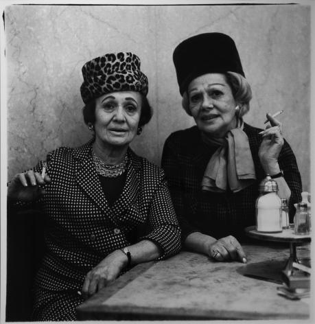 Diane Arbus- Two Ladies at the Automat