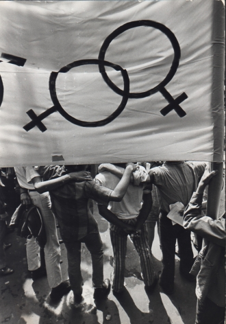Fred W. McDarrah- Gay Power Rally