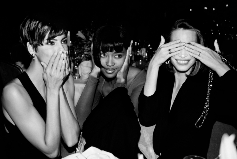 Roxanne Lowit- Linda Evangelista, Naomi Campbell, Christy Turlington, Speaking, Hearing and Seeing no Evil