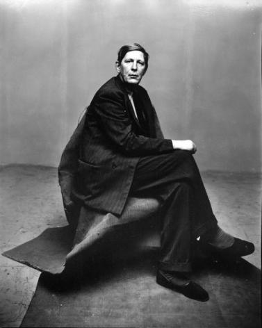 Irving Penn- W.H. Auden