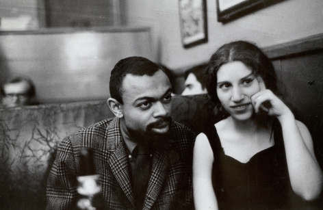 Fred W. McDarrah - LeRoi Jones and Diane di Prima
