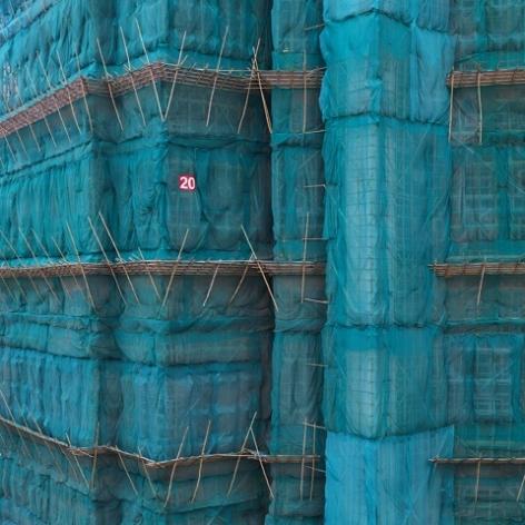 Peter Steinhauer_Teal Cocoon, Hong Kong