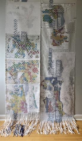 KIM RICE, Redlining Tapestries, 2017