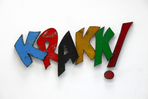 DAVID BUCKINGHAM, KRAKK!, 2012