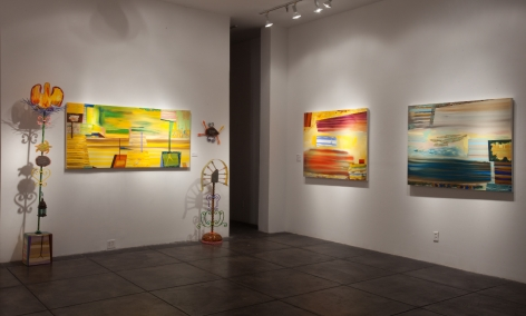KATHLEEN ARIATTI BANTON III The River of Forget, [Main Gallery Installation View]