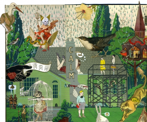 MICHAEL PAJON, Their Captive Spoke of Pitch Devils and Prowling Cats, 2012