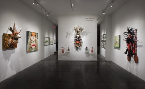 MARCUS KENNEY III State of Nature, [Main Gallery Installation View]