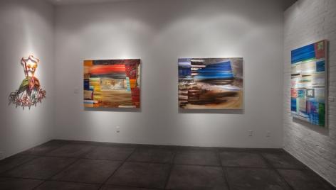 KATHLEEN ARIATTI BANTON III The River of Forget, [Main Gallery Installation View]