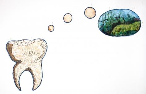 GINA PHILLIPS Sentimental Tooth: Cornfield, 2011