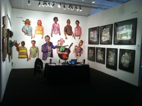 PULSE LOS ANGELES 2011 III JONATHAN FERRARA GALLERY booth A19, [Installation View]