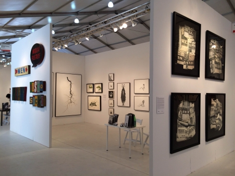 MIAMI PROJECT 2013 III JONATHAN FERRARA GALLERY booth 211, [Installation View]