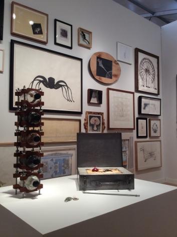 MIAMI PROJECT 2014|||JONATHAN FERRARA GALLERY booth 711, [Installation View]