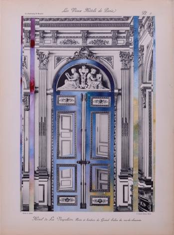 NURHAN GOKTURK Doorway to the Grande Salon, 2017