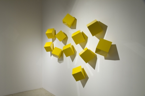 LORI COZEN-GELLER, Chatterboxes, sol (yellow), 2020