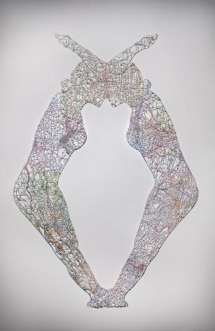 NIKKI ROSATO Untitled (Merged) I, 2014