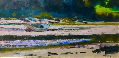 WILLIAM WOODWARD, Low Tide, Point Croix, 2019