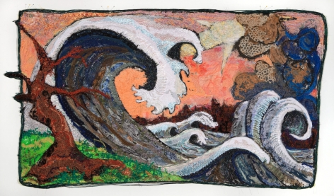GINA PHILLIPS Rogue Wave with Fist Wave, 2010