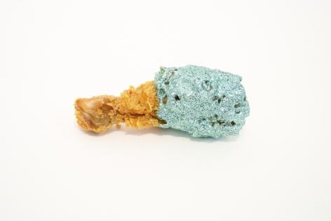 ARTEMIS ANTIPPAS, Chicken (turquoise), 2014