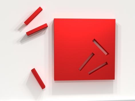 LORI COZEN-GELLER, Patience (red), 2011