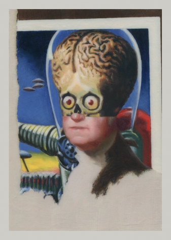 ADAM MYSOCK Early American Aliens (George Washington), 2016