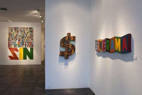 DAVID BUCKINGHAM|||I Speak as I Please, [Main Gallery Installation View]