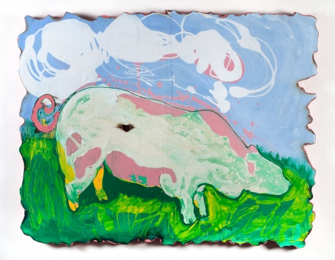 GINA PHILLIPS We Are Stardust (Boar), 2014