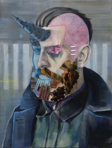 AKIHIKO SUGIURA, Beard II, 2019