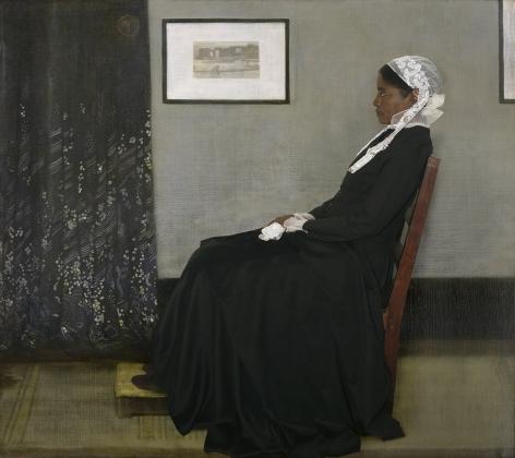 E2 - KLEINVELD &JULIENOde to Whistler's Arrangement in Grey and Black No. 1, 2014
