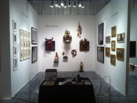 PULSE MIAMI 2012 III JONATHAN FERRARA GALLERY booth F-202, [Installation View]