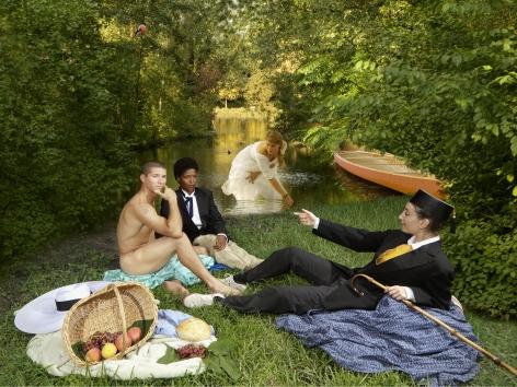 E2 - KLEINVELD &JULIENOde to Manet's Dejeuner sur l'herbe, 2011