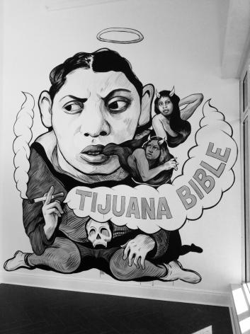 HUGO CROSTHWAITE Tijuana Bible Angel, 2017