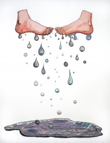 GINA PHILLIPS Sweaty Feet (Leakers), 2011