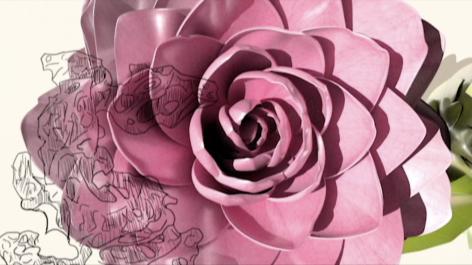 MARGARET EVANGELINE, Tattooed Camellia, 2018