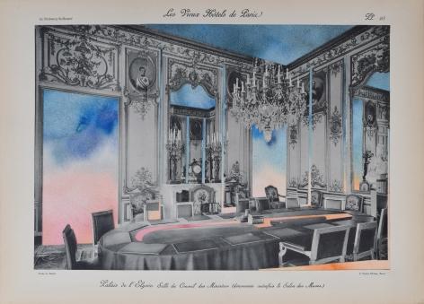 NURHAN GOKTURK Council of Ministers (Muses Salon), 2017