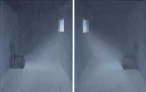MAGGIE EVANS, Separate Duality (diptych), 2020