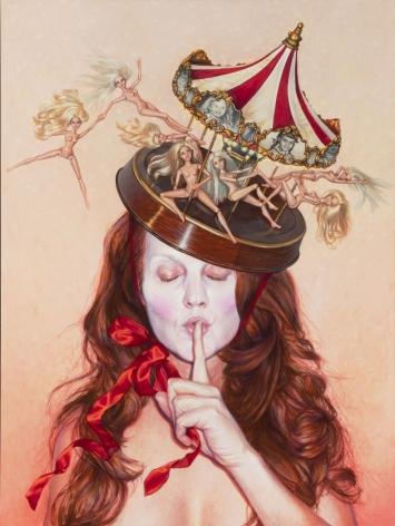 MARGARET MUNZ-LOSCH, Merkin - Song of Swans, 2012