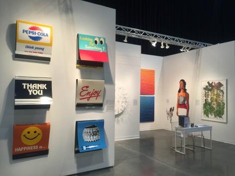 Seattle Art Fair2015III JONATHAN FERRARA GALLERY booth 613, [Installation View]