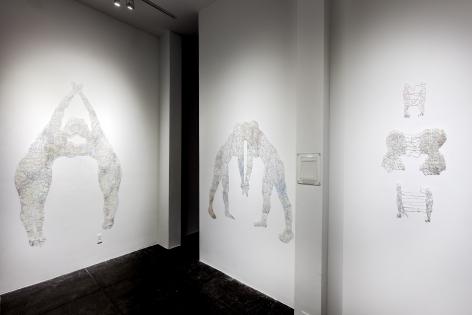 NIKKI ROSATO|||Merged [Centre Gallery Installation View]