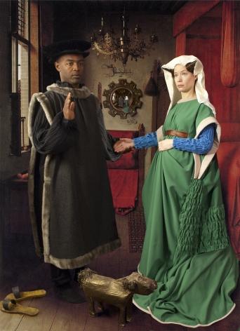 E2 - KLEINVELD &JULIENOde to Van Eyck's Arnolfini Marriage, 2012