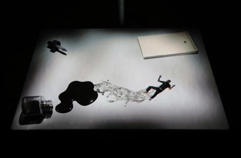 PETER SARKISIAN Ink Blot, 2011